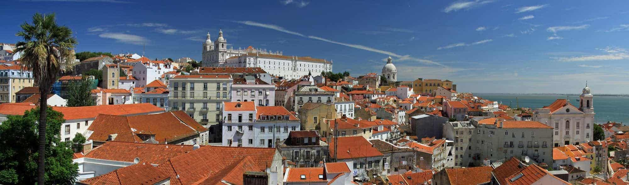Alfama - the old quarter of Lisbon (Portugal)