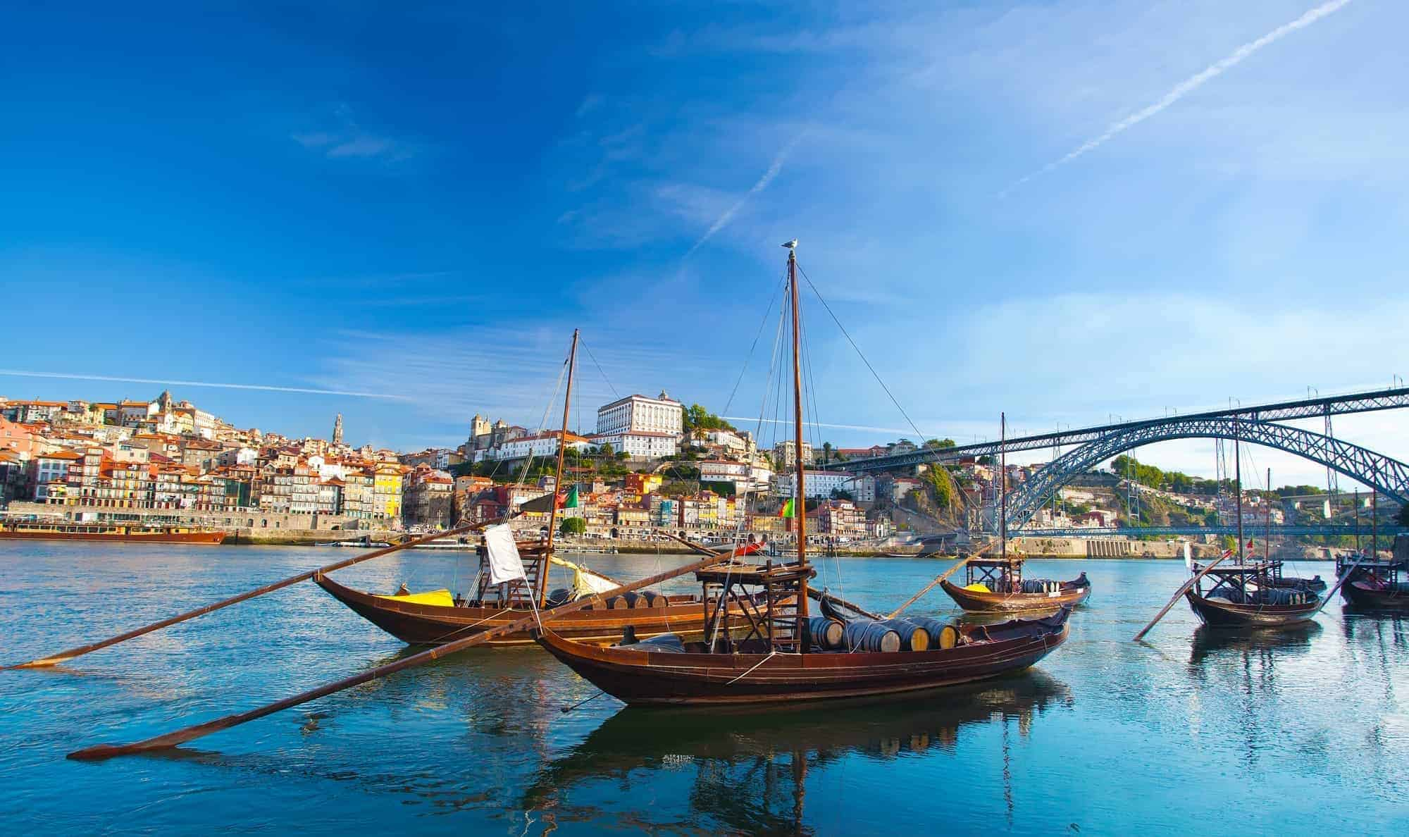 That is why it is called port wine, the old boats in Porto that transported the wines from and to the port